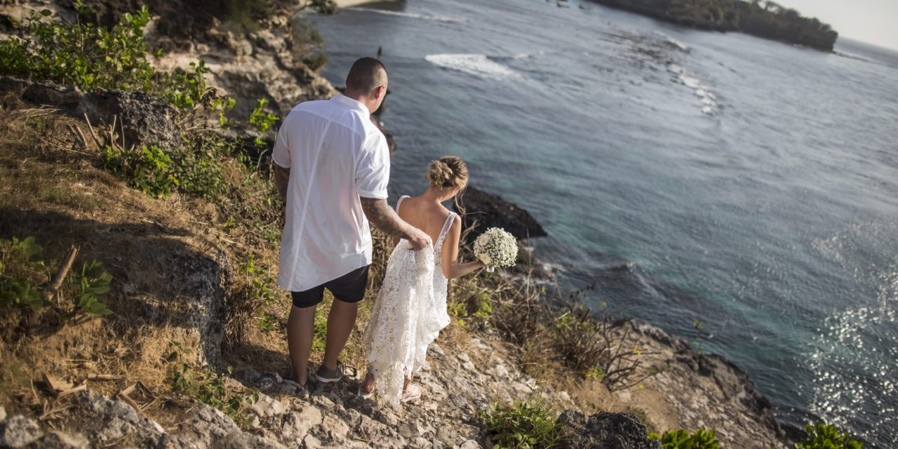 Nusa Lembongan wedding: Natalie and Adam