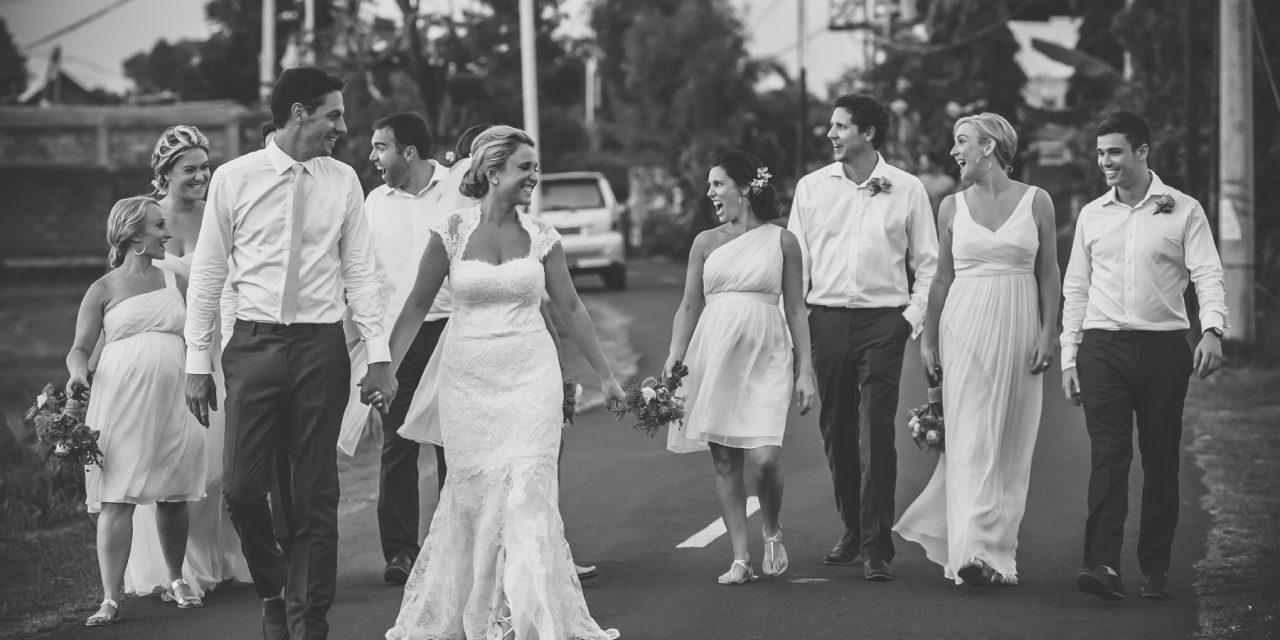 Villa wedding In Canggu: Olivia and Andy